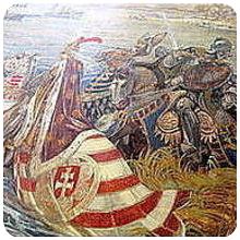 Владислав III и Янош Хуняди пред Траянови врата - 24 декември 1443 г.